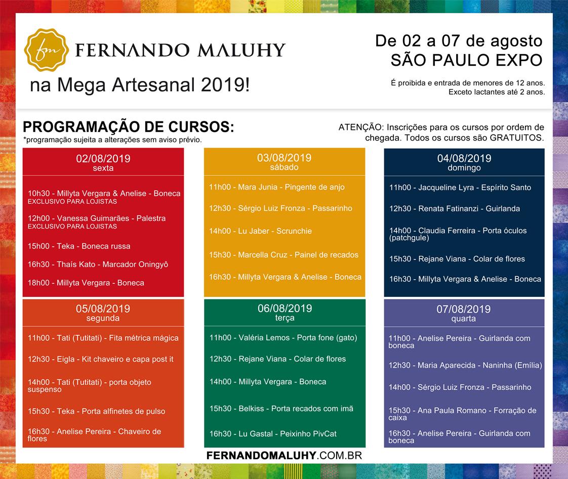 Mega Artesanal 2019 @ São Paulo Expo